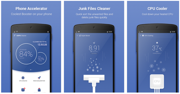 SUPO Cleaner (Super Power) app | Android Apps Mirror