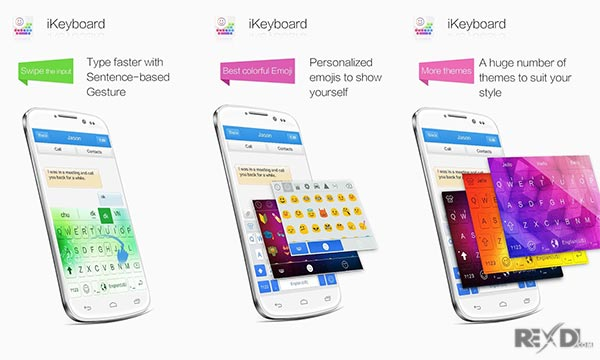 iKeyboard - emoji, emoticons amdroid app | Android Apps Mirror