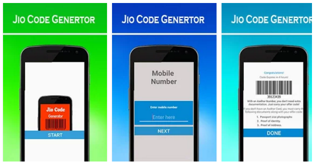 MY JIO Barcode generator Prank app   Android Apps Mirror