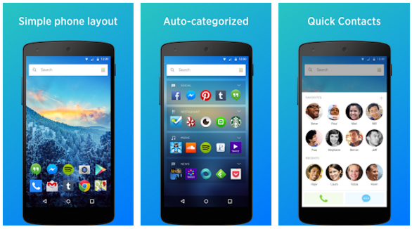 Yahoo Aviate Launcher app | Android Apps Mirror