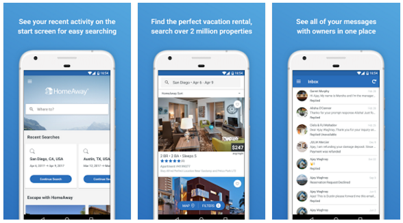 HomeAway VRBO Vacation Rentals App | Android Apps Mirror