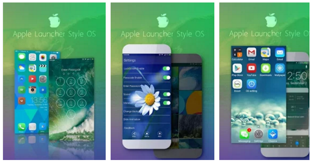 iLauncher OS 10 App | Android Apps Mirror