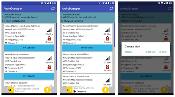 AndroDumpper ( WPS Connect ) App | Android Apps Mirror