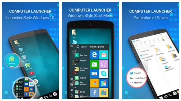 Pc Launcher for Computer Theme | Android Apps Mirror