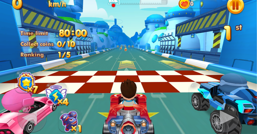 Paw Ryder Race - The Paw Patrol Human Pups Game | Android