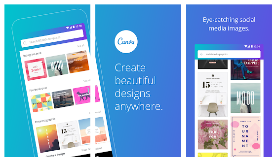 Canva Poster Banner Card Maker Graphic Design App Android Apps Mirror