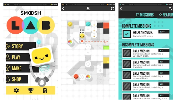 Smoosh Lab Game | Android Apps Mirror