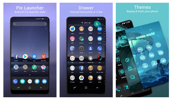 Pie Launcher 9 0 🔥   Android Apps Mirror