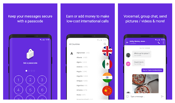 app that lets you text internationally for free